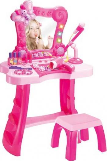 Masa de machiaj pentru copii Shopiens 71 x 50 x 11 cm + accesorii incluse Jucarii