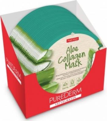 Masca Aloe Vera PureDerm 24 buc Masti, exfoliant, tonice