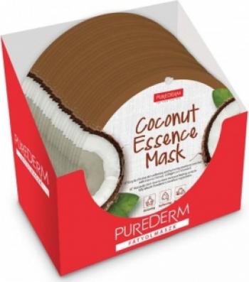 Masca cocos PureDerm 24 buc Masti, exfoliant, tonice