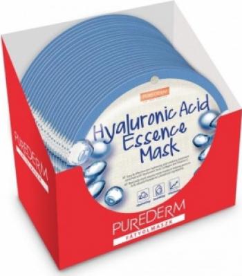 Masca cu acid hialuronic PureDerm 24 buc Masti, exfoliant, tonice