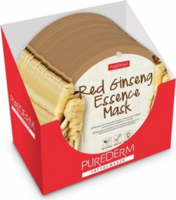 Masca Ginseng PureDerm - 24 buc Masti, exfoliant, tonice