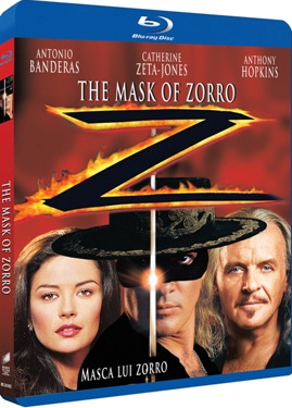 Masca lui Zorro The Mask of Zorro BLU RAY Filme BluRay