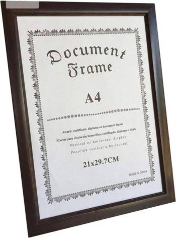 Rama foto A4 diploma lemn de culoare neagra