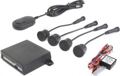 Senzori de parcare spate cu integrare OEM pe display-ul masinii la VW/SKODA/SEAT STEELMATE PTS410VW02 MIB HU Alarme auto si Senzori de parcare