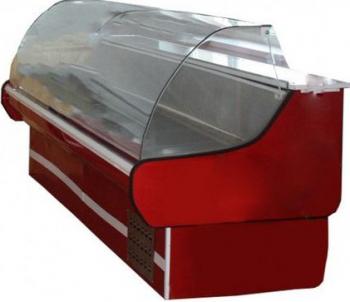 Vitrina frigorifica orizontala cu geam curbat si termostat automat cu control temperatura latime 1 5 m Lazi si congelatoare
