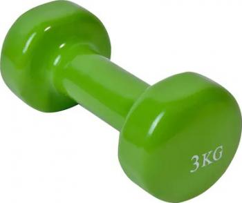 Greutate fitness Shopiens verde 3 kg