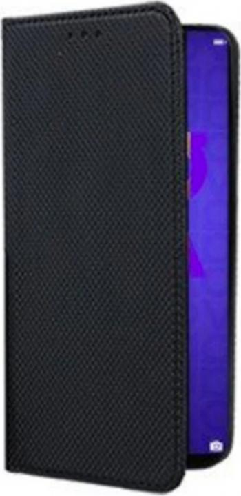 Husa Samsung Galaxy A21S - tip Carte premium book inchidere magnetica Negru Huse Telefoane