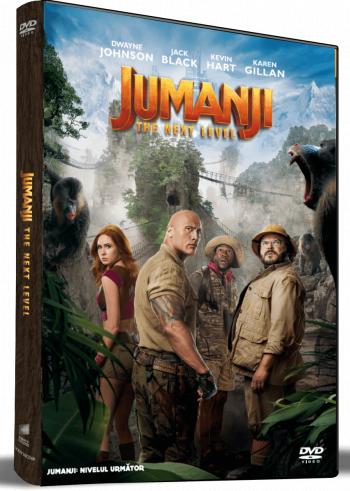 Jumanji Nivelul urmator Jumanji The Next Level DVD
