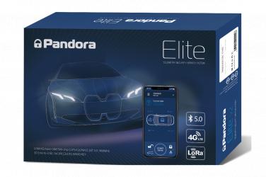 Pandora Elite Sistem de alarma auto cu pornire motor prin GSM 3G si pager 433Mhz Alarme auto si Senzori de parcare
