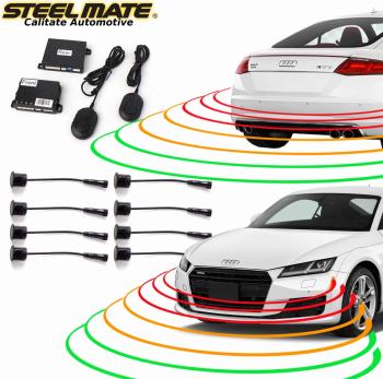 Senzori de parcare fata si spate STEELMATE PTS810EX fara display Alarme auto si Senzori de parcare