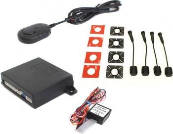 Senzori de parcare spate cu integrare OEM pe display-ul masinii pentru VW/SKODA/SEAT STEELMATE PTS410VW Alarme auto si Senzori de parcare