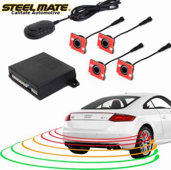 Senzori de parcare spate STEELMATE PTS410EX cu aspect OEM fara display Alarme auto si Senzori de parcare