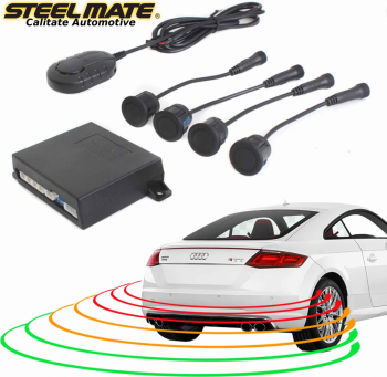 Senzori de parcare spate STEELMATE PTS410EX fara display Alarme auto si Senzori de parcare