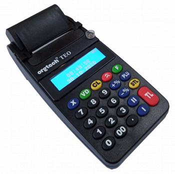 Casa de marcat cu jurnal electronic Orgtech Teo - model negru Masini de numarat bani