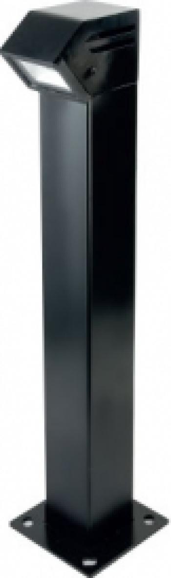 1 X 10W Stalp Iluminare LED Gradina Alb Rece 6000K Corpuri de iluminat