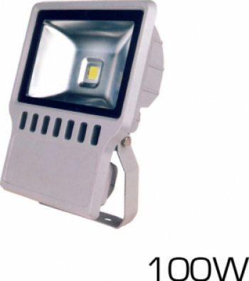 100W Proiector LED PREMIUM- Alb Rece 6000K Corpuri de iluminat