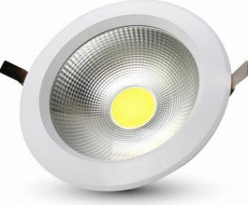 10W Spot LED COB Incastrabil Reflector Corp Alb - 6000K Corpuri de iluminat