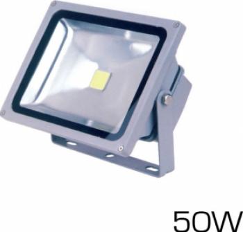 50W Proiector LED PREMIUM Reflector - Alb Rece 6000K Corpuri de iluminat