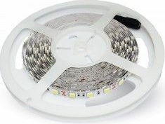 Banda LED SMD3528 - 60LEDs Albastra Ne-Etans IP20 Corpuri de iluminat
