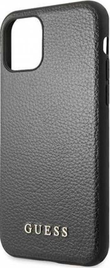 Husa de protectie Guess Iridescent iPhone 11 Pro Negru Huse Telefoane