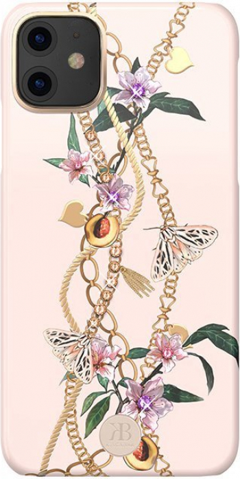 Husa de protectie Kingxbar Luxury Series Cu Cristale Swarovski iPhone 11 Roz Huse Telefoane
