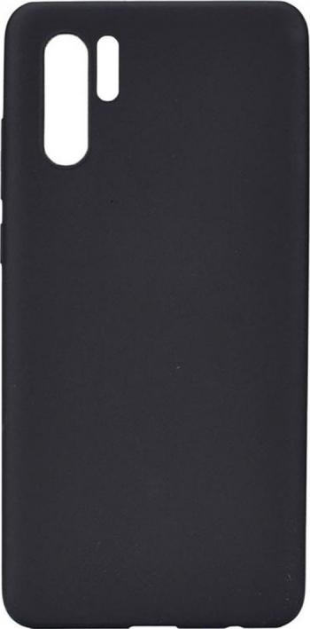 Husa de protectie Soft Matte Huawei P30 Pro Negru