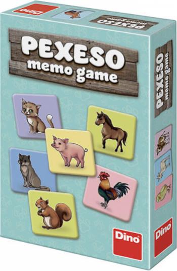 Joc de memorie - Animale 2-6 jucatori 4 ani+ Jucarii