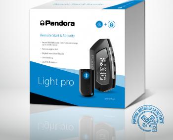 Pandora Light PRO alarma cu Bluetooth si pager 868Mhz pornire la distanta si sistem de telemetrie Alarme auto si Senzori de parcare