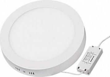 Panou LED cu montaj la suprafata rotund 18W SMD2835 lumina calda Corpuri de iluminat