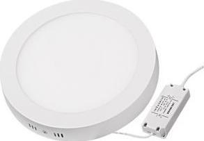 Panou LED cu montaj la suprafata rotund 18W SMD2835 lumina neutra Corpuri de iluminat