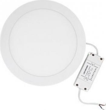 Panou LED incastrabil rotund 24W SMD5630 lumina neutra Corpuri de iluminat