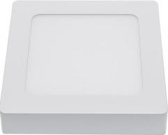 Panou LED Montare Aparenta Patrat Epistar Chip 5 Ani Garantie 12W Alb Cald Corpuri de iluminat