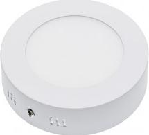 Panou LED Montare Aparenta Rotund Epistar Chip 5 Ani Garantie 6W Alb Rece Corpuri de iluminat