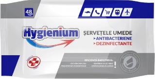 Servetele umede dezinfectante si antibacteriene 48bc Gel antibacterian