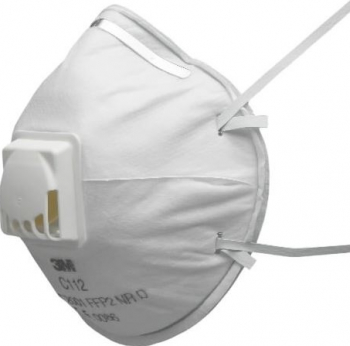 Set 10 semimasti protectie respiratorie cu valva 3M C112 FFP2 Masti chirurgicale si reutilizabile
