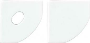 Set capace pentru profil de aluminiu AP205 Corpuri de iluminat