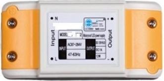 Sursa de alimentare pentru benzi LED 12W 12V DC nerezistenta la apa mini Corpuri de iluminat