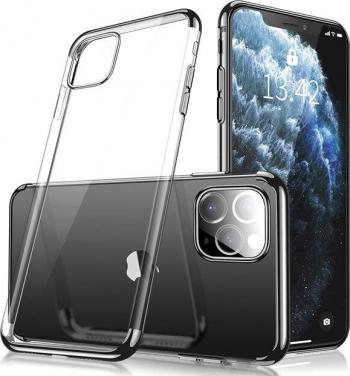 Husa Apple iPhone 11 Pro TPU Electro Black Huse Telefoane