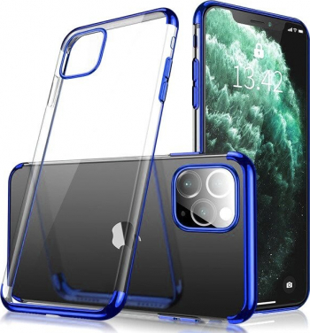 Husa Apple iPhone 11 Pro TPU Electro Blue Huse Telefoane