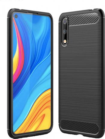 pret preturi Husa Carbon Defender pentru Huawei P Smart S Design subtil antialunecare Margini ridicate Finisaj mat Negru