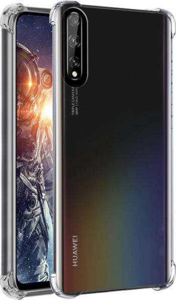 Husa de protectie Shockproof Silicon High Tech pentru Huawei P Smart S Crystal Clear Huse Telefoane