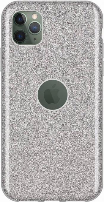 Husa Glitter Wozinsky Shining Case iPhone 11 Pro Max Argintiu Huse Telefoane