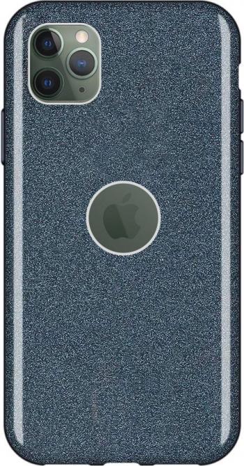 Husa Glitter Wozinsky Shining Case iPhone 11 Pro Negru Huse Telefoane