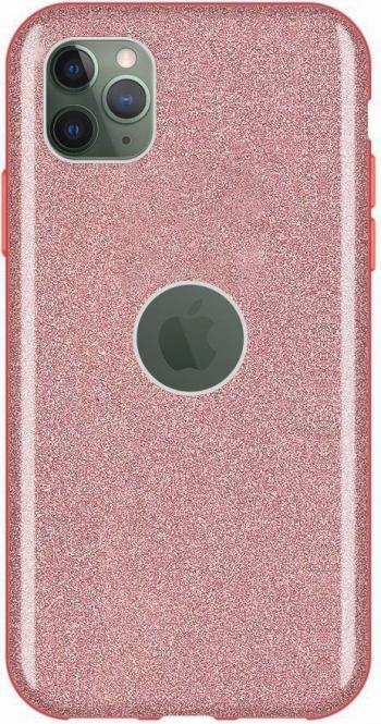 Husa Glitter Wozinsky Shining Case iPhone 11 Pro Roz Huse Telefoane