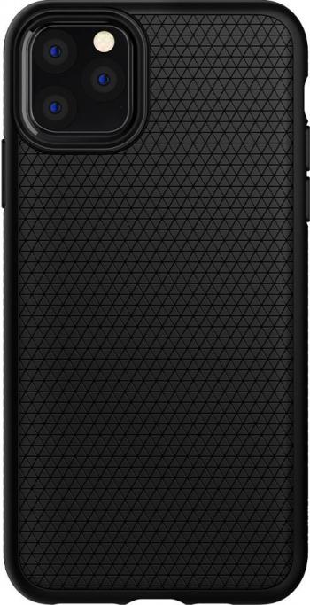 Husa iPhone 11 Pro Max Spigen Liquid Air Negru Huse Telefoane