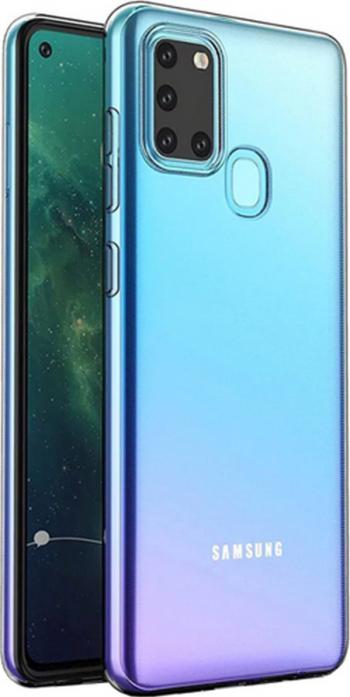 Husa Samsung Galaxy A21S TPU HTPhone Transparenta Huse Telefoane
