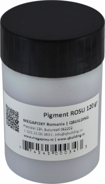 Pigment epoxidic Megapoxy ROSU 120Gr Accesorii materiale de constructie