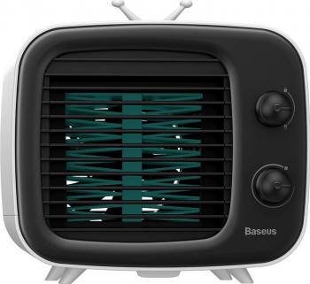 Ventilator Birou Baseus Time Desktop Air Cooler Alb/Negru Ventilatoare