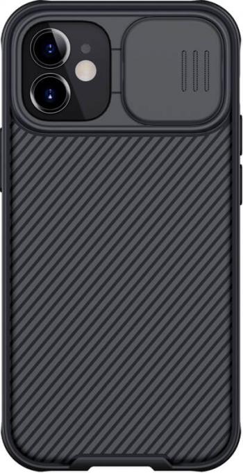 Husa protectie spate si camera foto negru pentru Apple iPhone 12 mini 5.4 - Nillkin CamShield Huse Telefoane