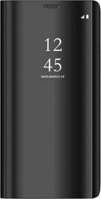 Husa Samsung Galaxy A21S Clear View HTPhone Neagra Huse Telefoane